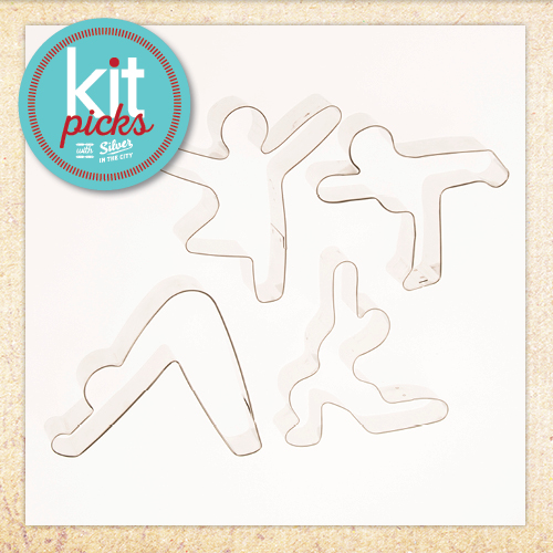 Kit Picks - Yoga Cookie Cutters
