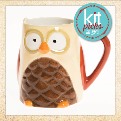 Kit Picks - Oliver Owl Mug