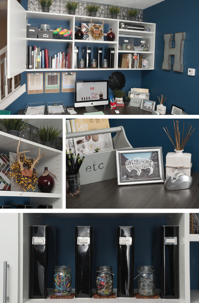 Before & After Office Nook | Hoosier Closets | KitIndy.com