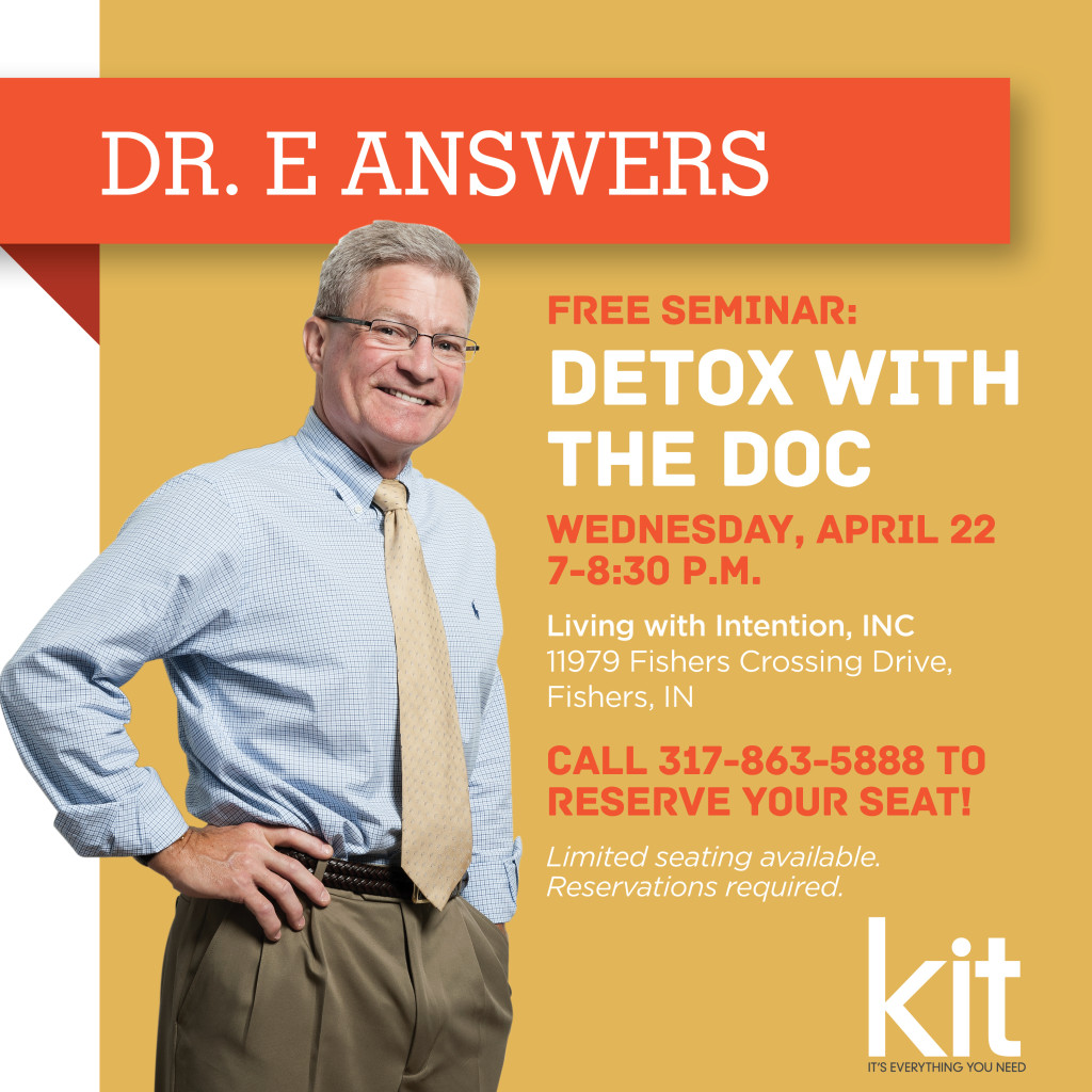 Dr. E Answers | Detox with the Doc | Kitindy.com