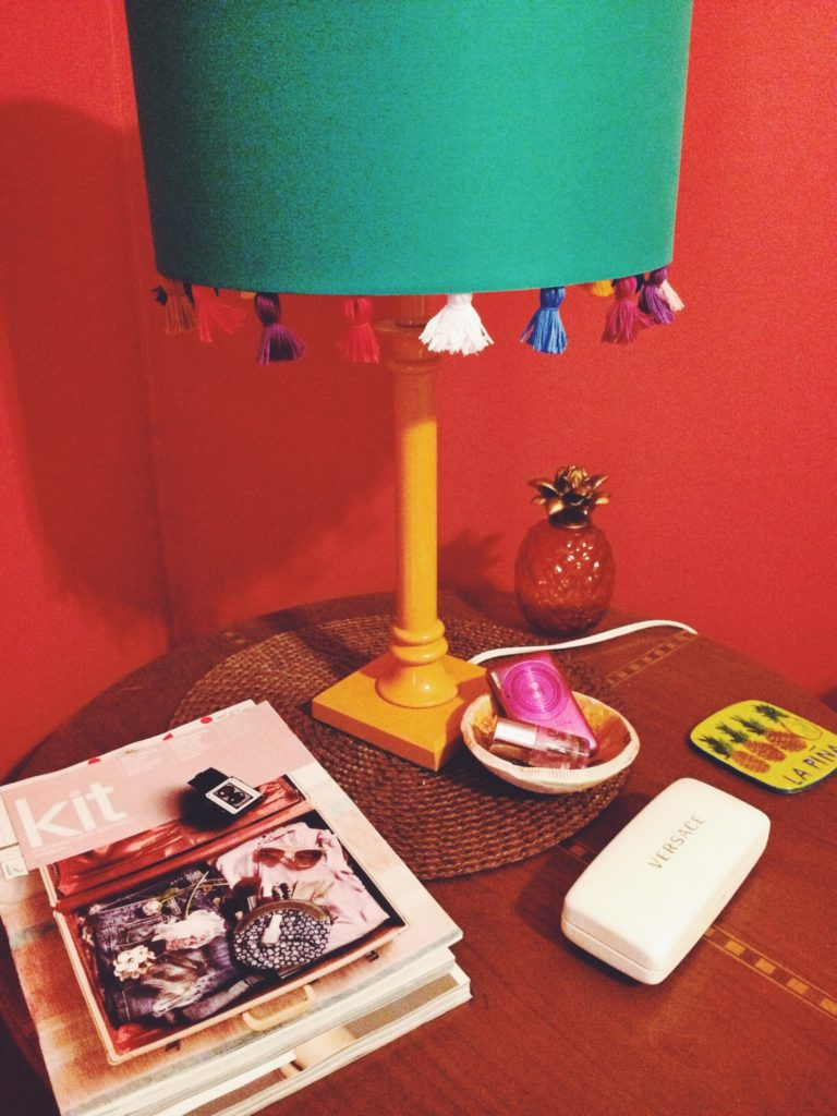 DIY Tassle Lamp