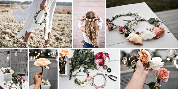 DIY Floral Headbands | Josie Sanders | Kitindy.com