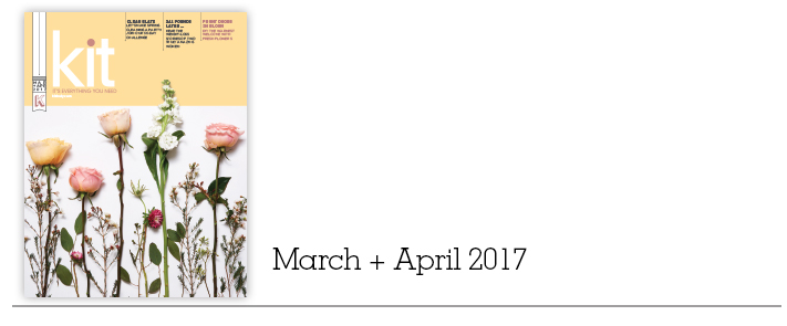 Kit - March + April 2017 | kitindy.com